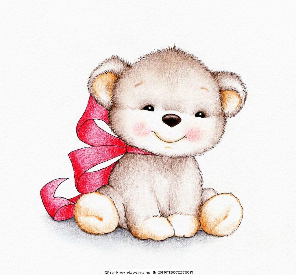 可爱小熊卡通图片