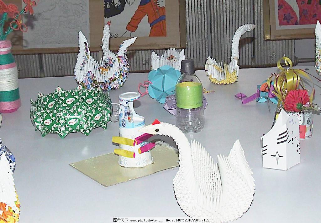 美术展览学生手工作品图片