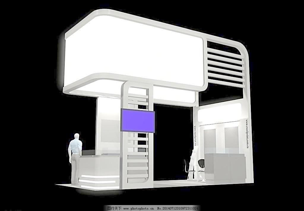 3d效果图 灯光 发布会 会展 开盘 空间设计 立体 3d展览设计 展示模型图片