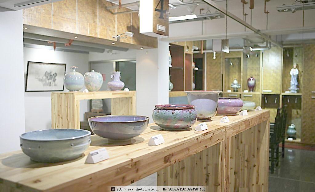 设计图库 环境设计 建筑设计  瓷器陈列图片免费下载 72dpi jpg 陈列