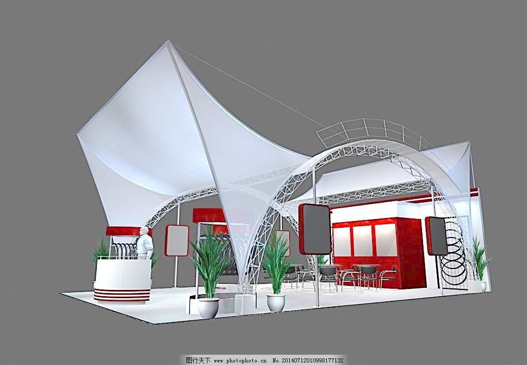 max 灯光 模型 三维设计 室内 室内模型 3d展览设计 3d展览设 展示模图片
