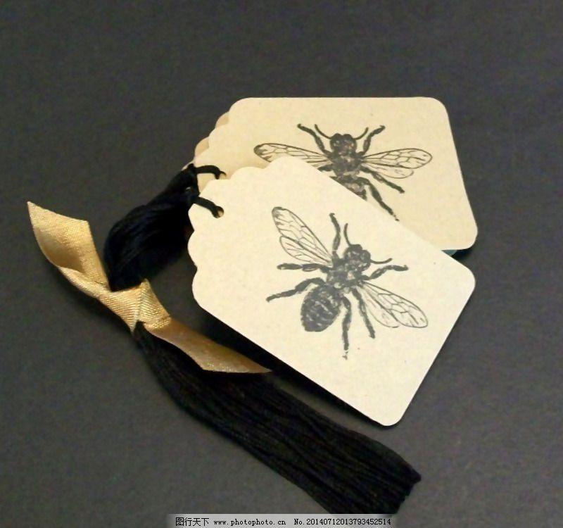 吊牌 动物 蜜蜂 免费素材