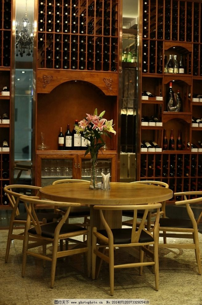 欧式红酒桌子效果图