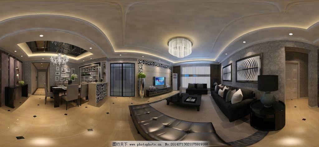 360全景效果图 360 全景        室内设计 装修 室内模型 3d设计 设计