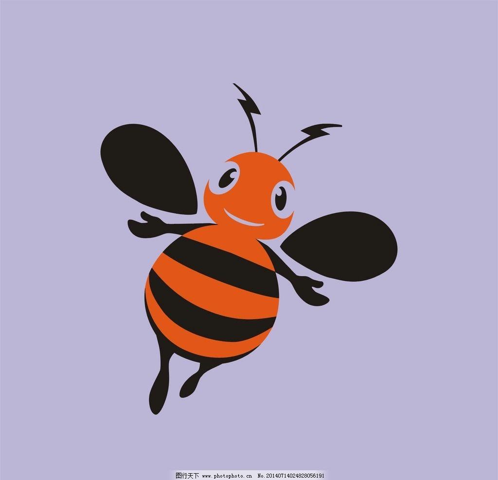 小蜜蜂 蜜蜂 矢量蜜蜂 矢量小蜜蜂 昆虫 卡通蜜蜂 小动物 可爱昆虫 可