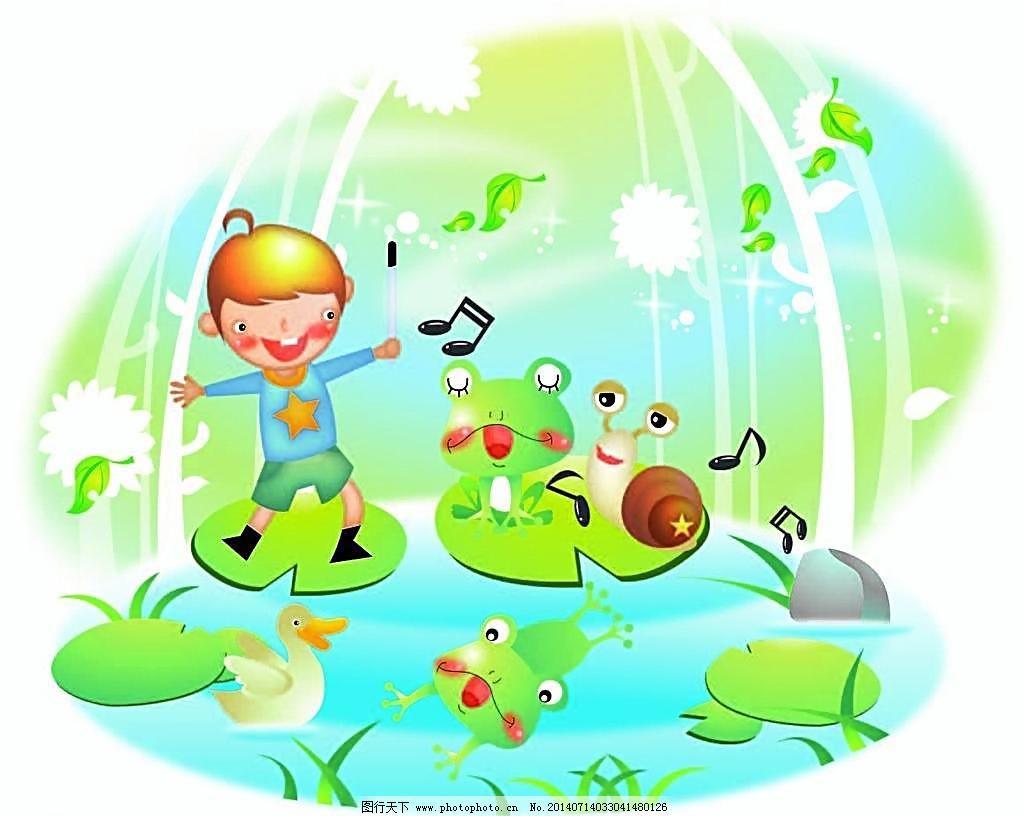 ai 草地 动物 儿童 儿童幼儿 风景 伙伴 开心 快乐 快乐儿童 快乐儿童