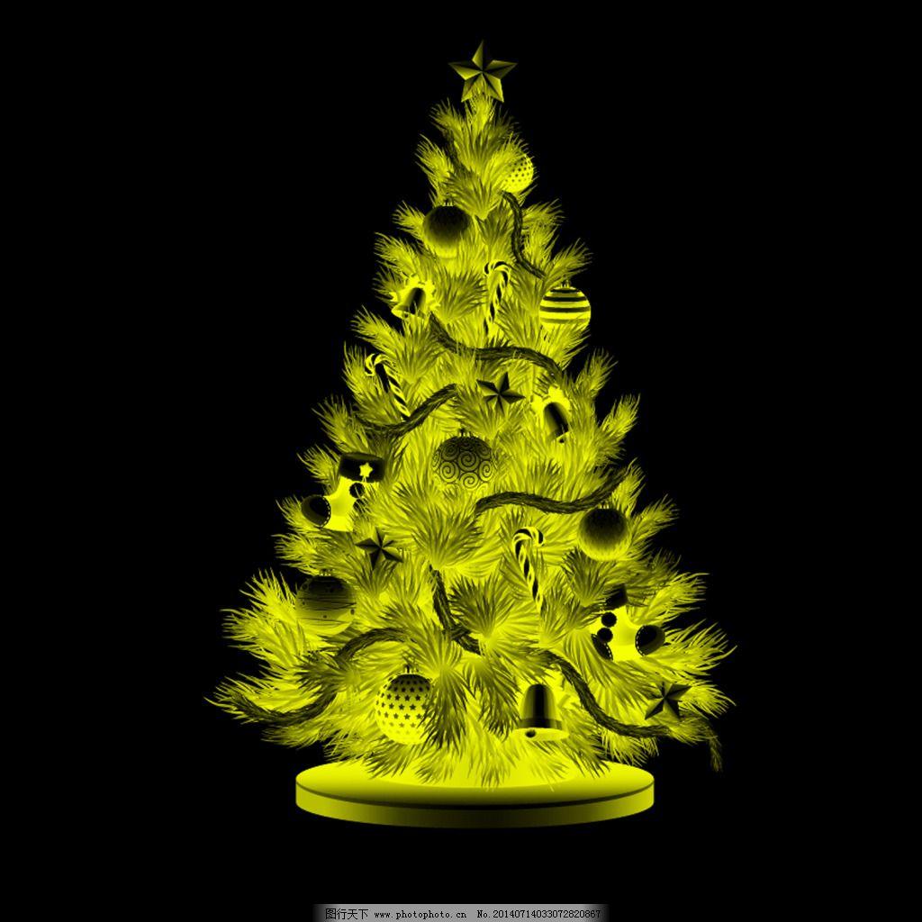 圣诞小树 圣诞小树免费下载 铃铛 圣诞节 圣诞球 圣诞树
