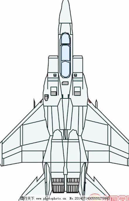 卡通飞机模型免费下载