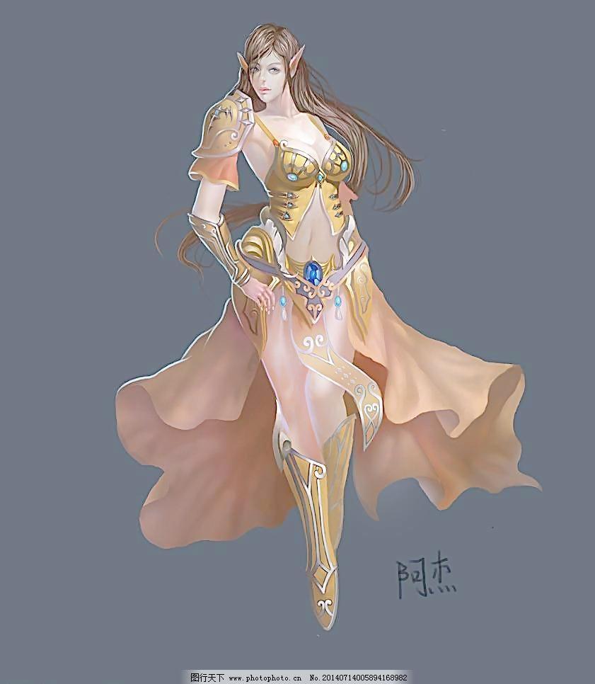 游戏原画 动漫动画 动漫人物 美女 网络游戏 网游 武侠 游戏人物