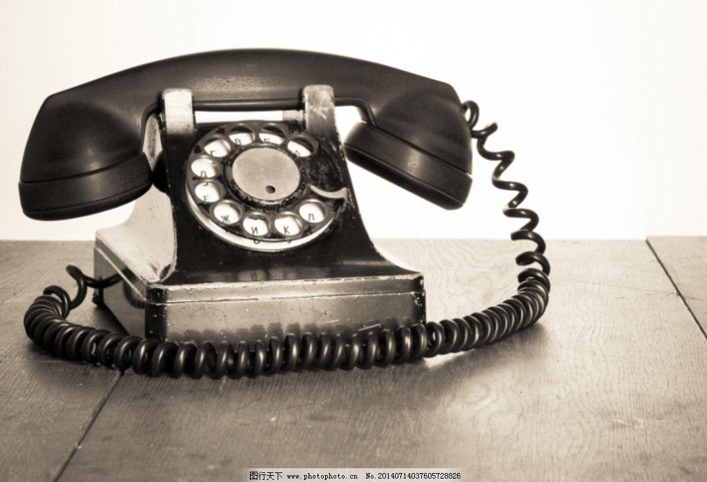 复古电话图片,座机 通讯工具 听筒 摇臂 拨号盘 接线