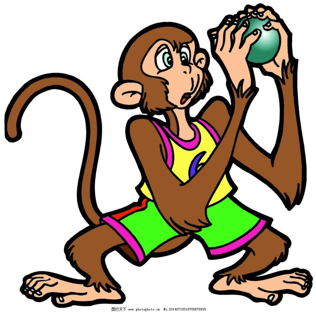 小猴子图片_可爱卡通_动漫卡通