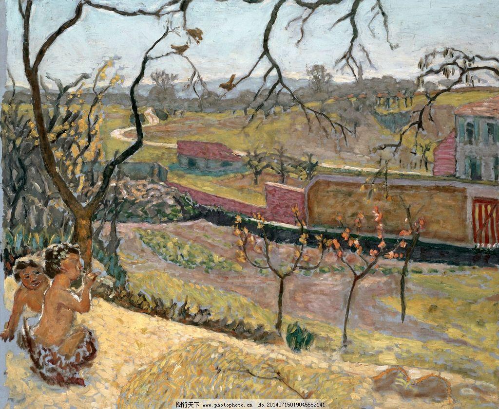 乡村印象画 油画 写生 外国油画 绘画人物 风景油画 绘画书法 文化