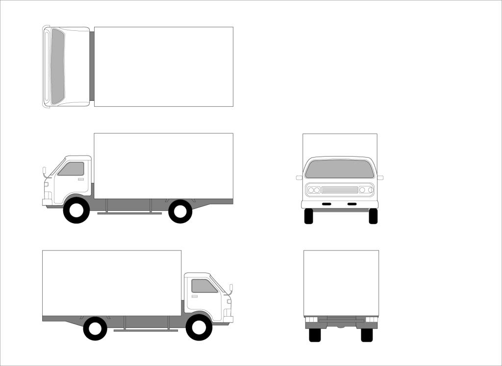 货车各部件名称图解