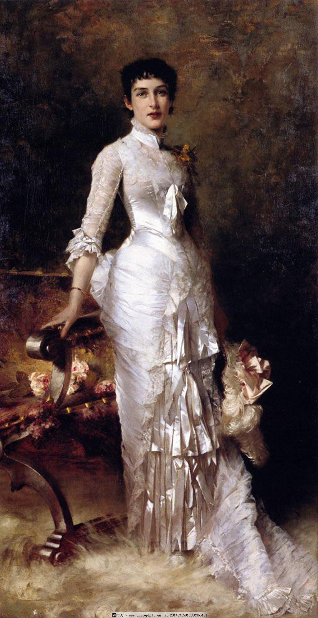 欧洲贵族女性 欧洲贵族女性免费下载 写实 油画作品 西方美术 大师