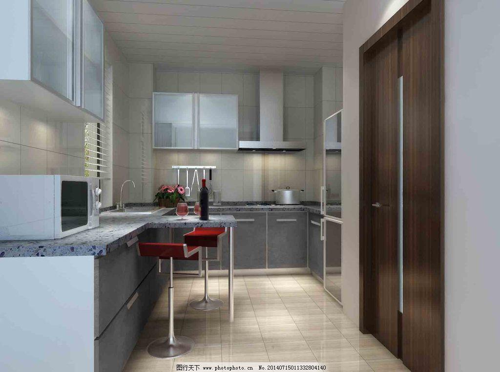 厨房免费下载 设计 室内 装修 室内 装修 设计 家居装饰素材 室内设计