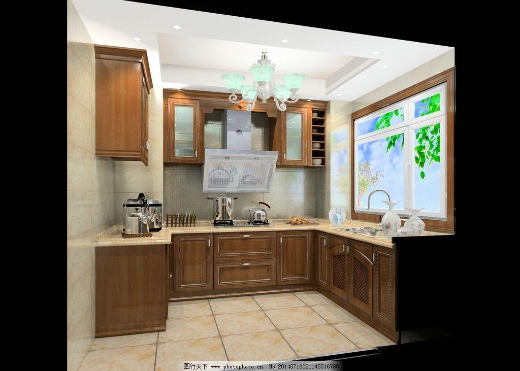 欧式 效果图 厨房 图片图片