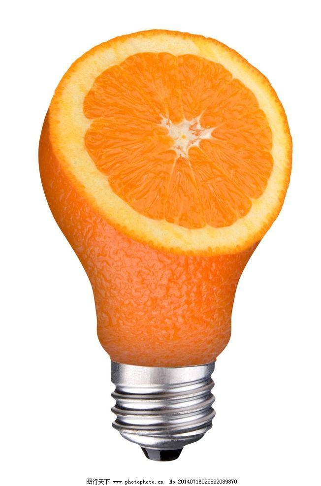 桔子创意水果图片图片