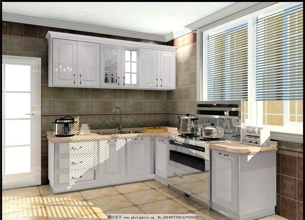效果图 厨房 欧式 图片