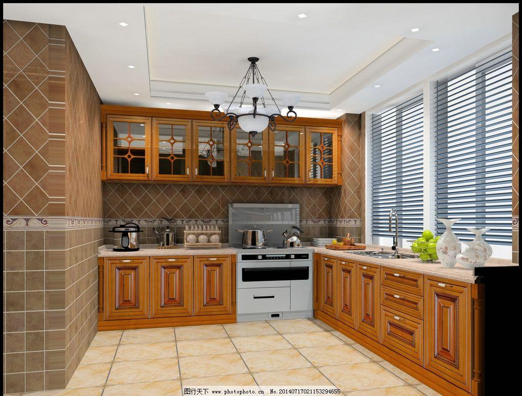 欧式 厨房 实木图片图片