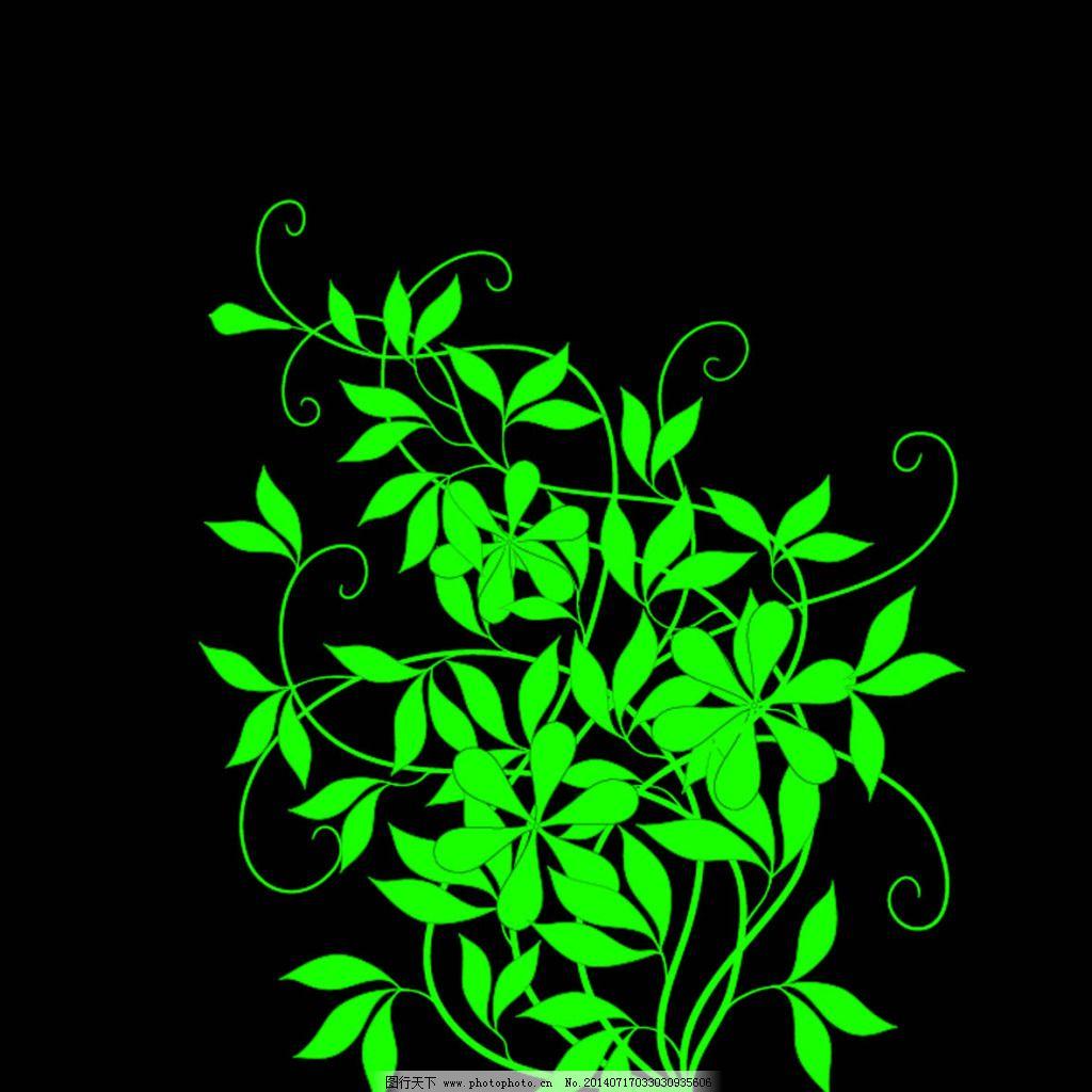 树叶 线条 叶子 花纹 线条 叶子 树叶 漂亮 psd源文件 其他psd素材