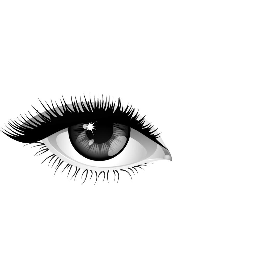 卡通人物眼睛 卡通人物眼睛免费下载 女性 漂亮