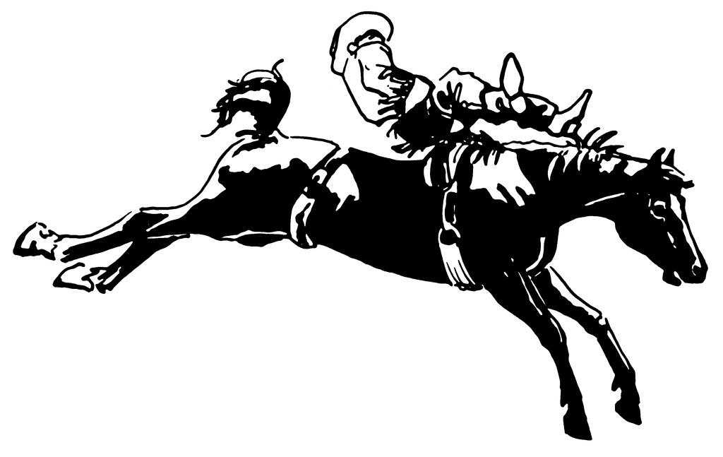 位图 抽象动物 色彩 黑白色 马 免费素材