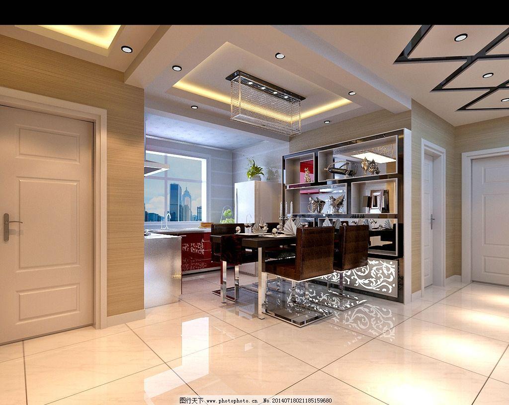家装效果图 简单 欧式 时尚 阳光 餐厅 3d设计 设计 72dpi jpg