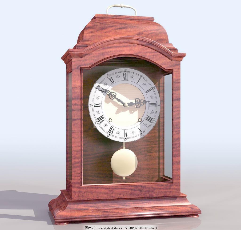 relojmes 老式座钟模型01图片