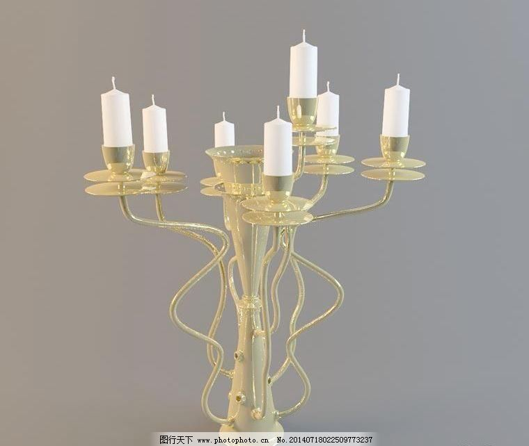 欧式风格 蜡烛台 蜡烛灯028