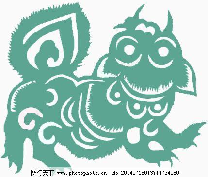 位图 动物 狮子 花纹 色彩 免费素材