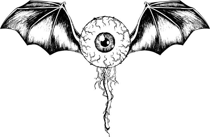 黑白手绘眼睛画法