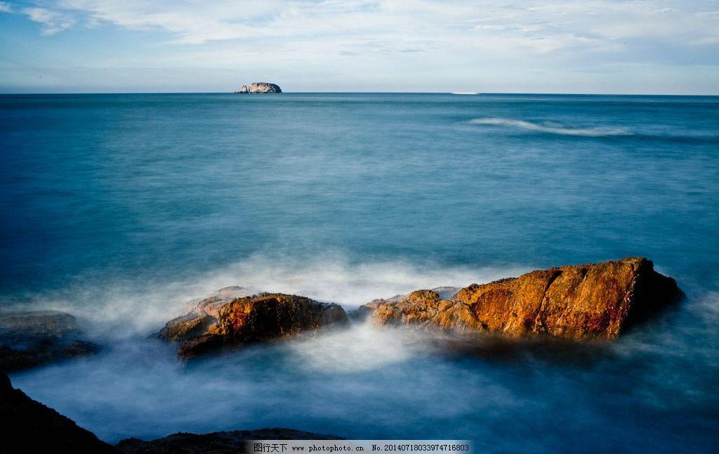 海边美景 秦皇岛 北戴河 海边 旅游 风景 风光 自然 海浪 礁石 国内