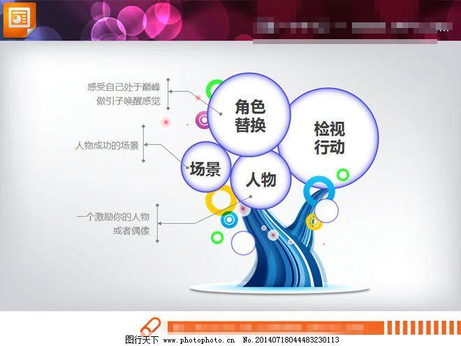 幻灯片关系图模板免费下载 并列关系 树状ppt图表 并列关系 组合关系