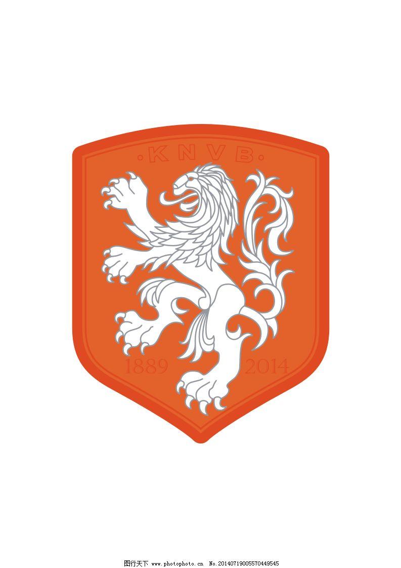 荷兰国家队队徽免费下载 队徽 荷兰 足球队徽 荷兰国家队 队徽 荷兰