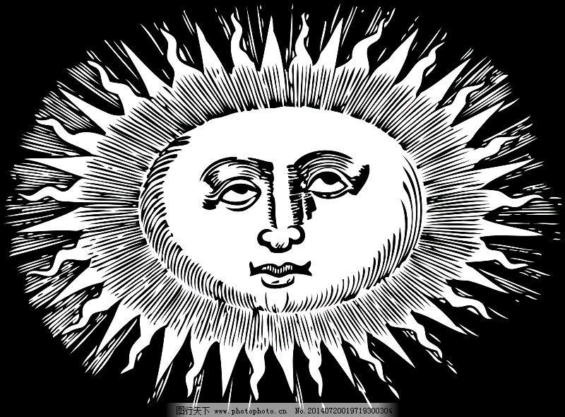 椭圆形的太阳