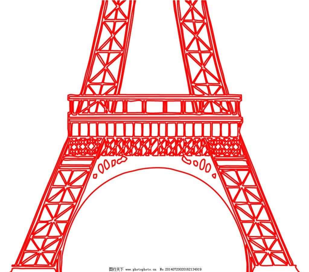 铁塔矢量图图片