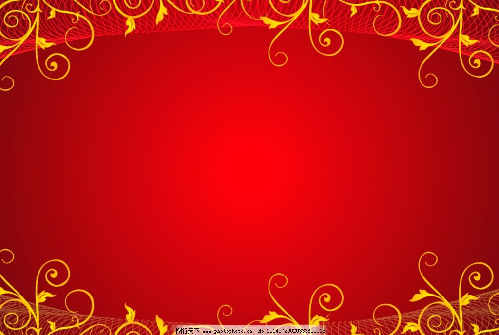 红色花纹底纹 花纹 红色背景 背景 底 欧式 欧式底纹 欧美花边 时尚