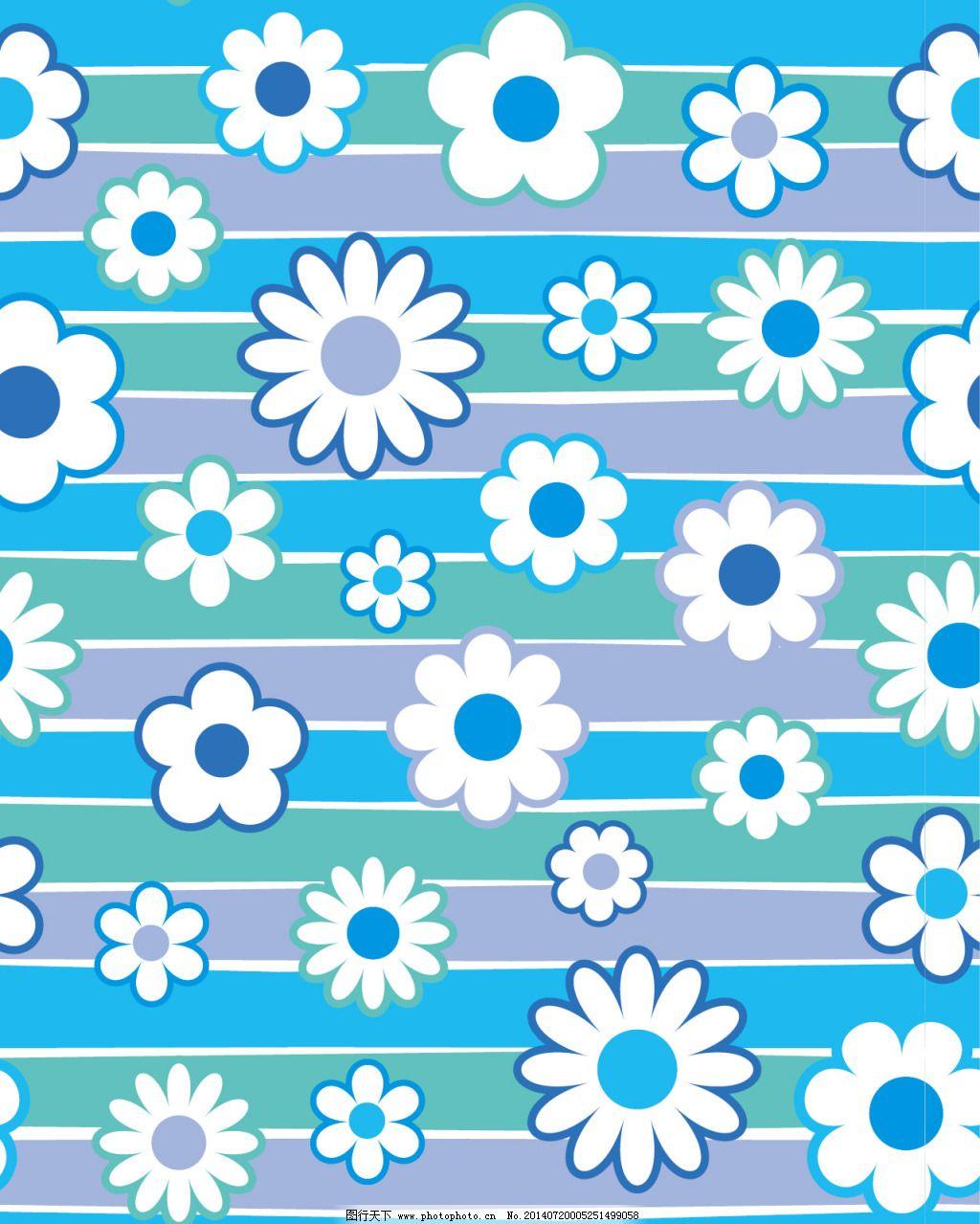 白色小花背景
