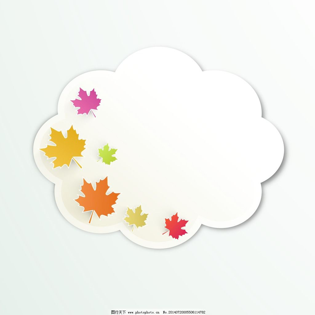 背景/秋天的枫叶老式的背景