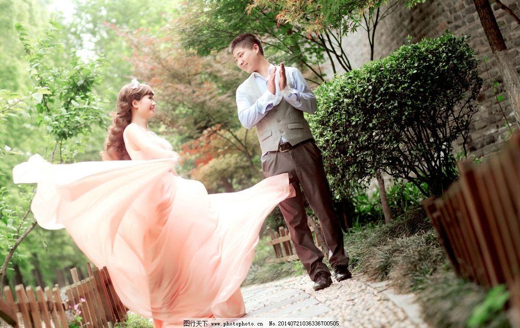 婚纱照 婚纱摄影 人物摄影 美女 帅哥影楼摄影 外景婚纱 公园婚纱照