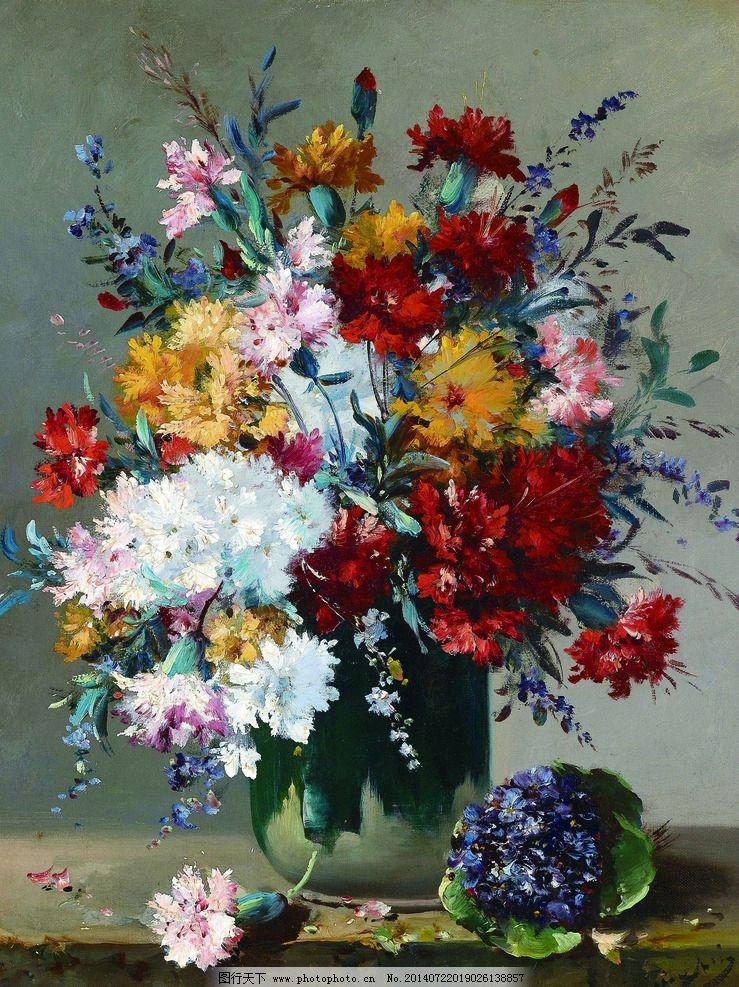 写实油画花卉图片