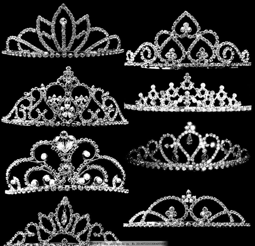 分层帝皇女王水晶皇冠图片