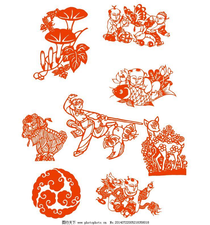 剪纸图纸名图片展示简单雪雕v剪纸花边图片