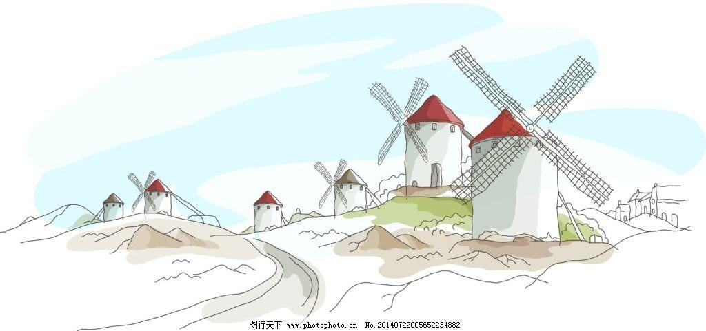 七角风车做法图解