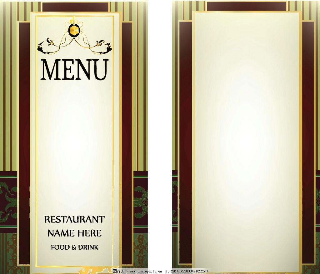 菜单 手绘 欧式花纹 花边 边框 菜单设计 菜单图标 菜单标志 饭店菜