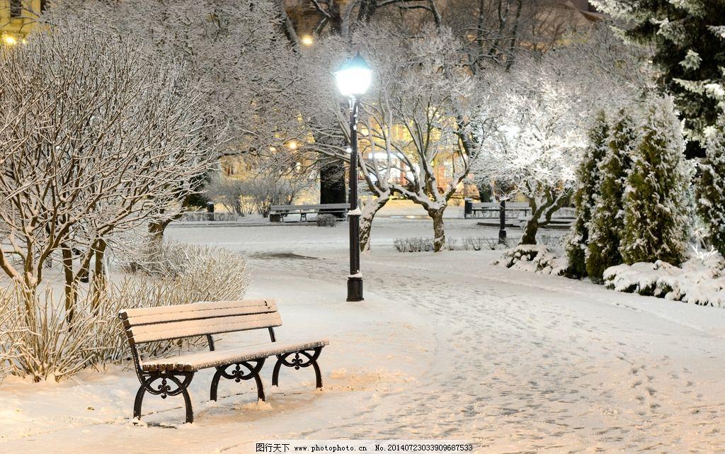公园雪景 秦皇岛 北戴河 旅游 风景 自然 风光 唯美 意境 清新