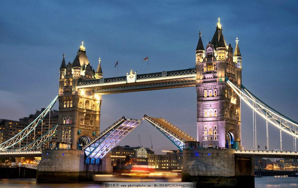 唯美 大桥/伦敦塔桥图片