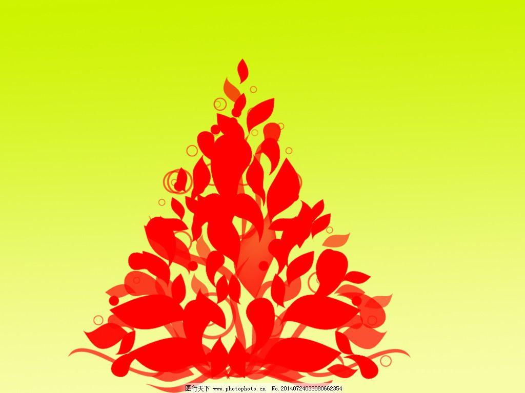 叶子构成的树免费下载 底纹 花纹 漂亮 小树 叶子 小树 叶子 漂亮