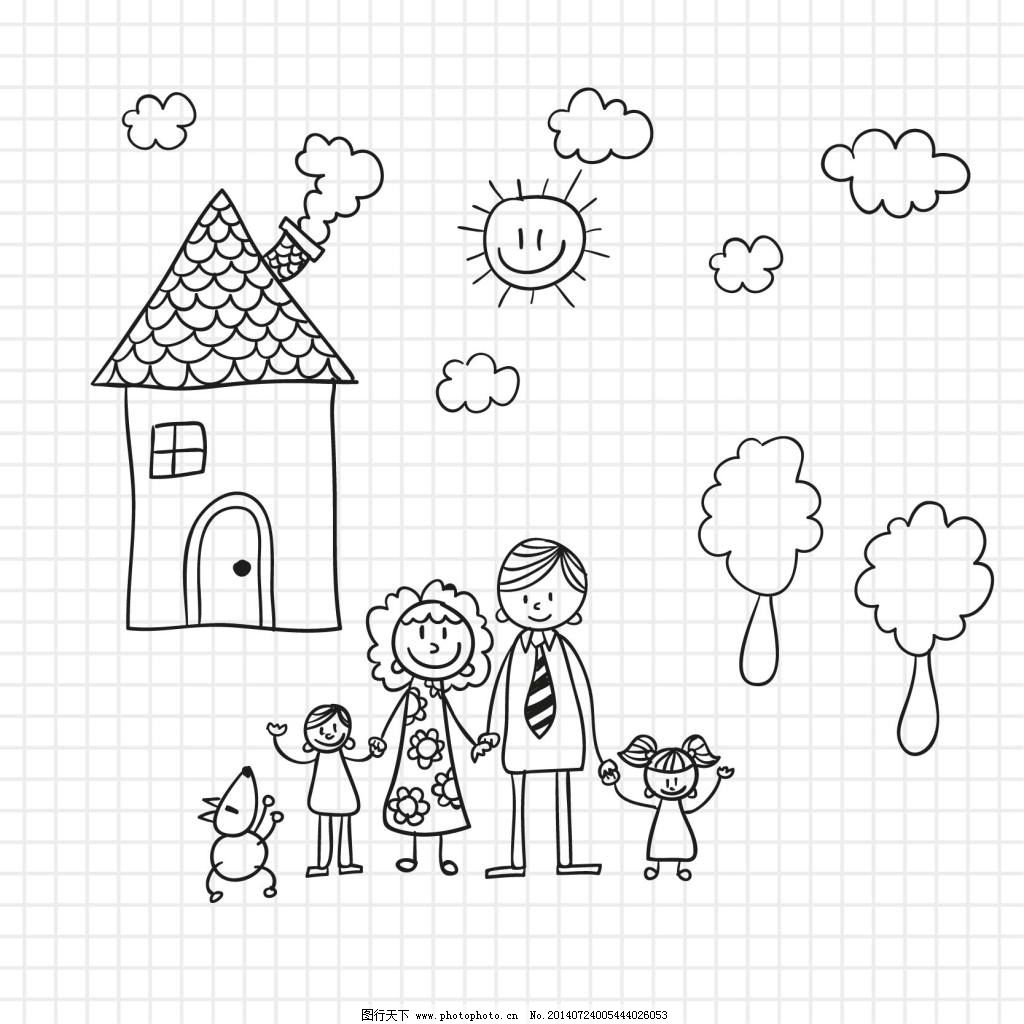 手绘儿童画
