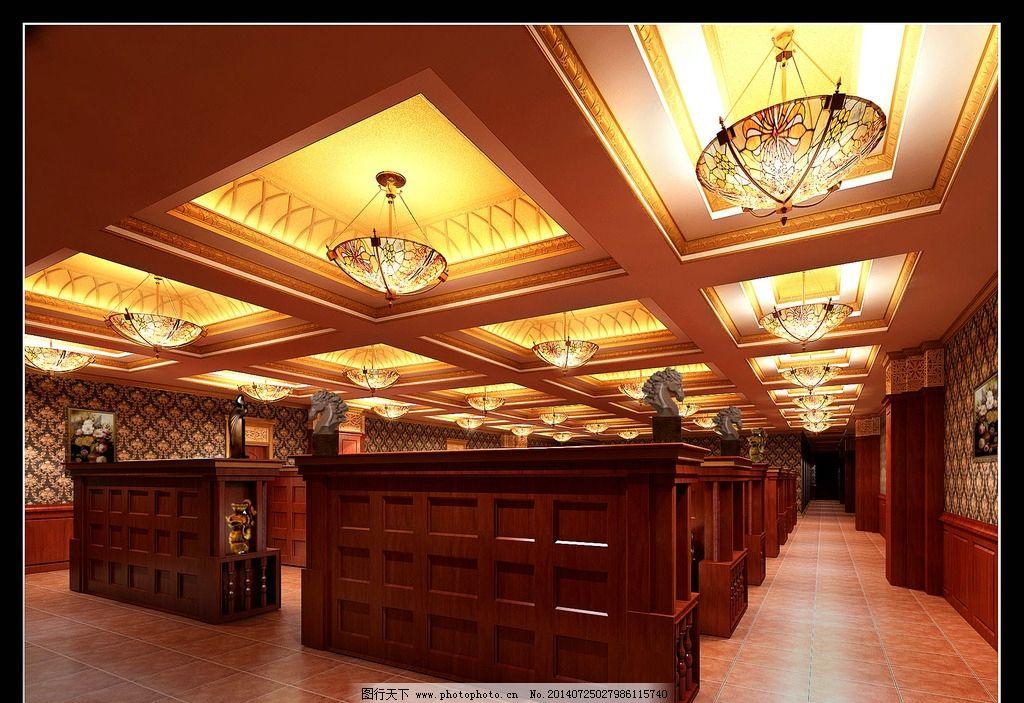 卡座区 吊顶设计 西餐厅 灯 室内设计 装饰 环境设计 设计 72dpi jpg